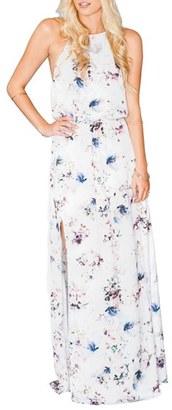 Women's Show Me Your Mumu Heather Chiffon Halter Gown $168 thestylecure.com