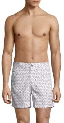 Honeycomb Swim Shorts