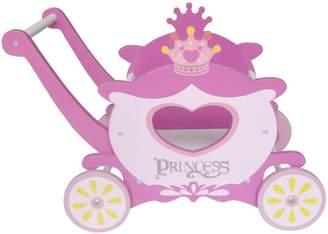 Kiddi Style Children's Princess Carriage Trolley Walker Toy Box Push Along