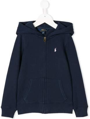 Ralph Lauren Kids zip front hoodie