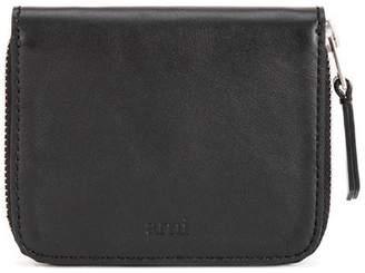 Ami Leather Zip Wallet