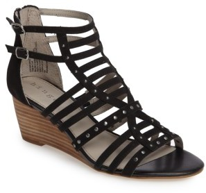 Women's Hinge Nolan Strappy Wedge Sandal $79.95 thestylecure.com
