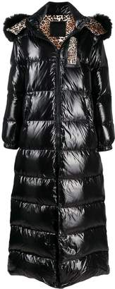 Philipp Plein shiny padded long coat