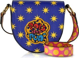 Alessandro Enriquez Mini Hebe Pop Pois Leather Shoulder Bag