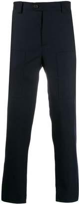 Brunello Cucinelli regular fit tailored trousers