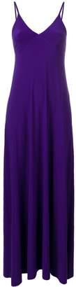 Norma Kamali v-neck long dress