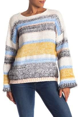 Fate Multi Striped Knit Sweater