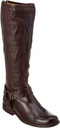 10ea8be8a4c4 ... Frye Women s Phillip Harness Tall Ext Calf Leather Boot