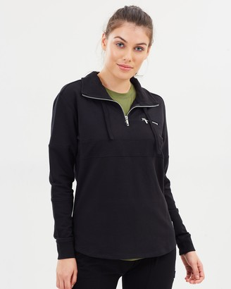 Phoebe Zip-Collar Sweater