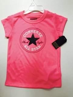 Bassket.com Girls T-Shirts Converse 4-7 Years