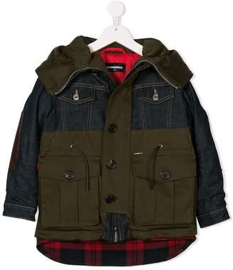 DSQUARED2 hybrid jacket