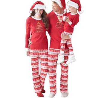 Danlan Christmas Matching Family Pajamas Sets for The Family