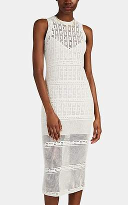A.L.C. Women's Monaghan Cotton Crochet Dress - White