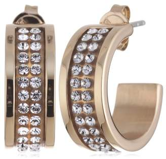 Dyrberg/Kern 333325 Swarovski Crystal Stainless Steel Earrings