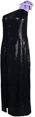 Olivia Rubin one shoulder cocktail dress