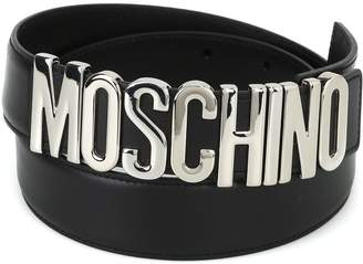 02535a97aef Moschino Leather Belts For Women - ShopStyle UK