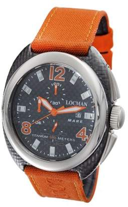 Locman Men's 134CRBOR Mare Collection Titanium Watch