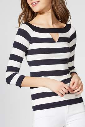 Bailey 44 Stripe Boatneck Top