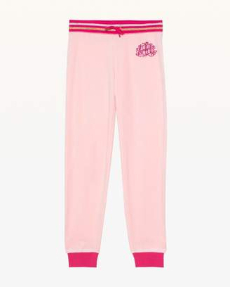 Juicy Couture Carnival Script Juicy Velour Zuma Pant for Girls