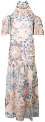 Temperley London Quartz printed dress