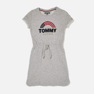 Tommy Hilfiger Girl's Sweat Shift Dress