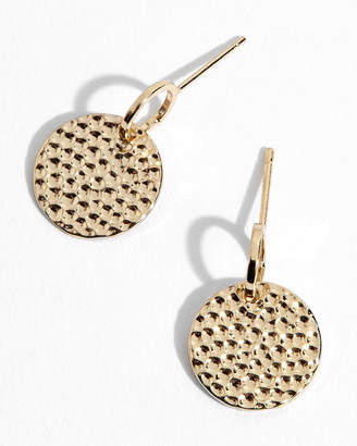 At Jigsaw Hammered Disc Earrings