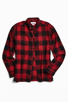 Urban Outfitters UO Buffalo Shadow Plaid Flannel Button-Down Shirt $49 thestylecure.com