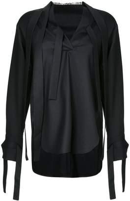 Eudon Choi high low blouse