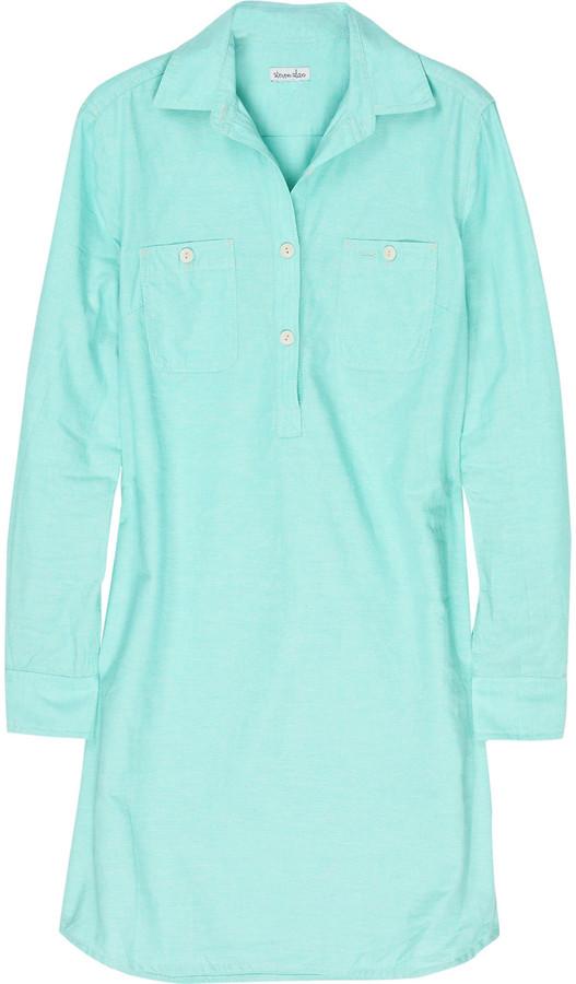 Steven Alan Riveter cotton shirt dress