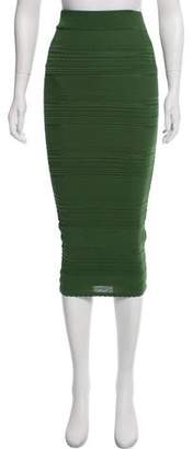 Torn By Ronny Kobo Textured Pencil Skirt w/ Tags