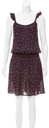 Tucker Printed Midi Dress