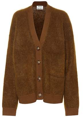 Acne Studios Rives mohair-blend cardigan