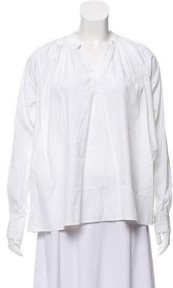 6397 Oversize Long Sleeve Top