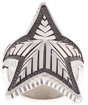 Sanderson Cody curved star ring