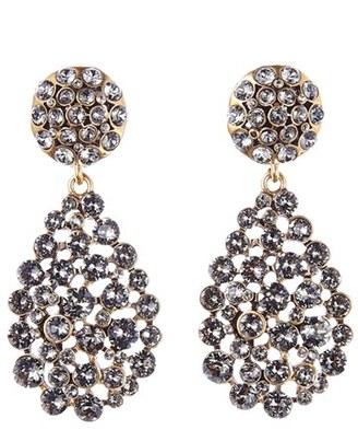 Women's Oscar De La Renta Teardrop Earrings $390 thestylecure.com