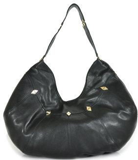 Foley + Corinna - Dumonde Hobo - Black Leather Oversized Hobo