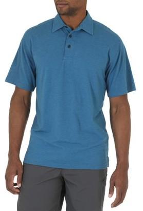 Wrangler Big Men's Short Sleeve Tri-Blend Polo