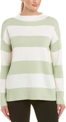 Lafayette 148 New York Wide Stripe Sweater
