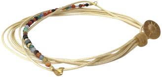 BEIGE Eye Of The Sea Eleni String Bracelet