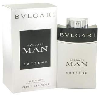 Bvlgari Man Extreme by Eau De Toilette Spray 3.4 oz for Men - 100% Authentic
