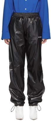 Misbhv Black Techno Zip Track Pants