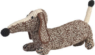 Anne Claire Small Crochet Dachshund