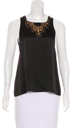 Andrew Gn Embellished Sleeveless Top