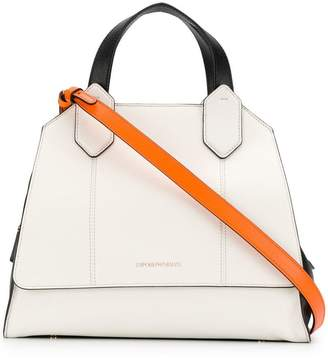 White Leather Tote Bag - ShopStyle UK 53067cc175f5f