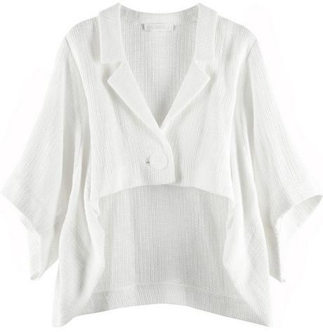 Chloé Cotton cape jacket