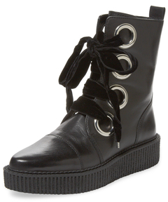 Watts Leather Creeper Boot $498 thestylecure.com