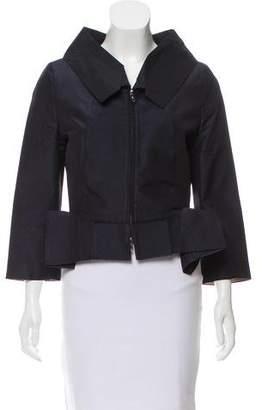 Roland Mouret Silk-Blend Jacket