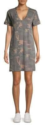 Tresics Luxe Camo T-Shirt Dress