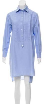 Burberry Lightweight Button-Up Shirtdress Blue Lightweight Button-Up Shirtdress