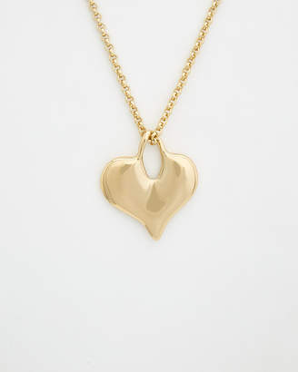 Robert Lee Morris Collection Plated Long Chain Necklace